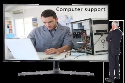 Slide-PC Support